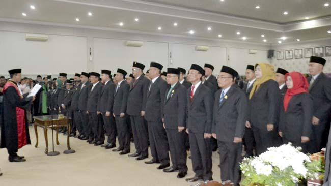45 Anggota DPRD Dilantik, Bupati Salwa Ajak Bersinergi Bangun Bondowoso