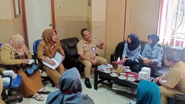 Rapat Koordinasi Bersama OPD di Kantor Disnaker Kabupaten Malang. (Sur)