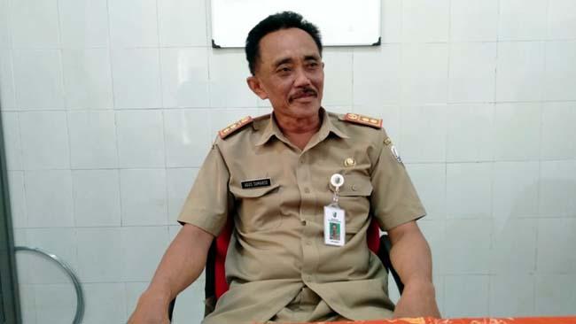 Kasi Penempatan Tenaga Kerja Diskumenaker Sampang, Agus Sumarso. (ist)