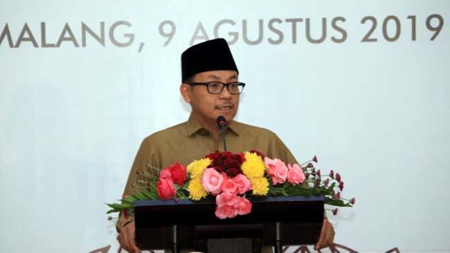 Serah Terima Jabatan Kepala OJK Malang, Walikota Harus Meningkatkan Masyarakat Melek dan Cerdas Keuangan