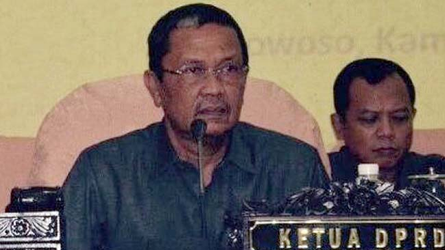 H Ahmad Dhafir Ketua DPRD Bondowoso 2019-2024