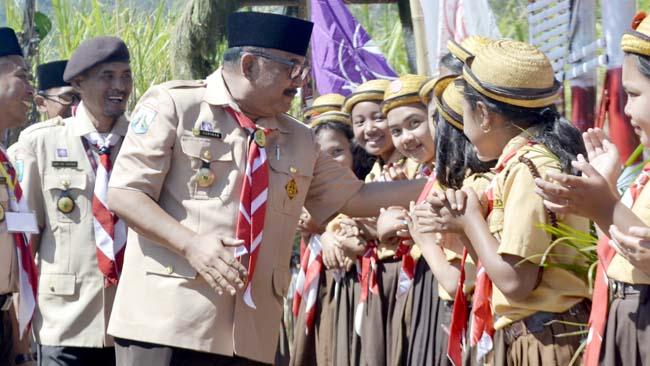 Motivasi Siswa, Kadisdikbud Bondowoso Rutin Kunjungi Sekolah