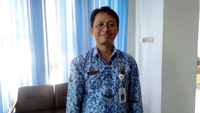 Plt Kepala Dinas Kesehatan Sampang Agus Mulyadi. (zyn)