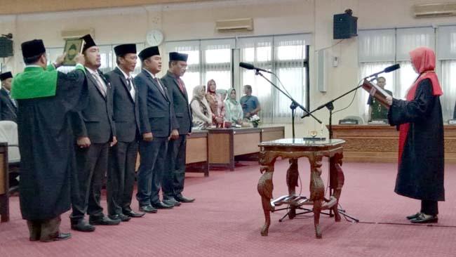 Pelantikan DPRD Bangkalan