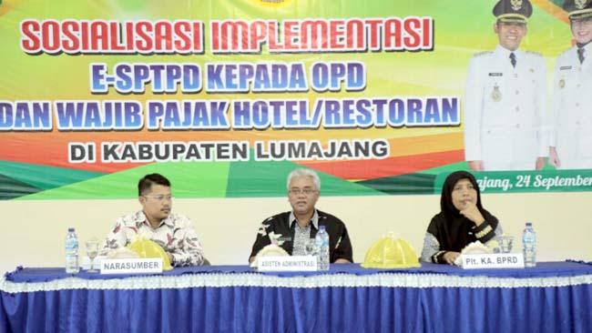 E-SPTPD Inovasi Pelaporan Pajak di Lumajang