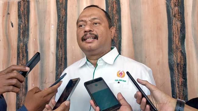 Ketua Harian KONI Jatim, M Nabil. (tut)