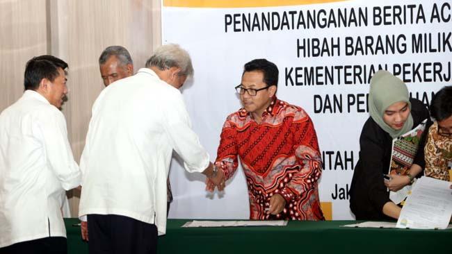 Kota Malang Terima Hibah Barang Senilai Rp 3,85 M dari KeMen PUPR
