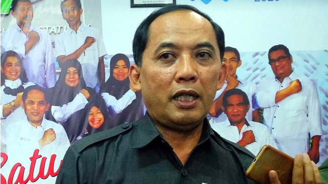 Kepala BPS kota Malang, Sunaryo. (rhd)