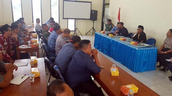 Rapat Koordinasi Pembentukan Tim Terpadu Pembersihan Sungai Wrati