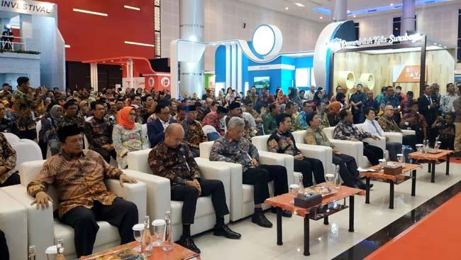 Wabup Lumajang Hadir di East Java Investival Grand City Surabaya