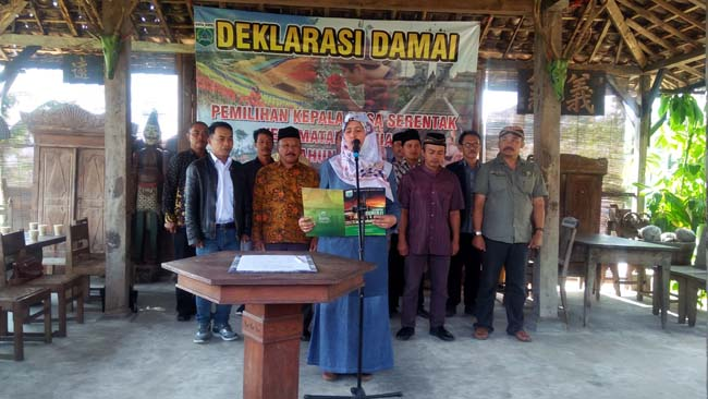 Wakil Walikota Batu Ajak Masyarakat Tolak Bebotoh Dalam Pilkades Serentak