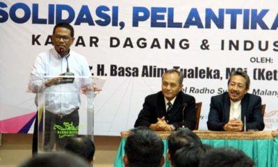 Lantik Pengurus Baru, Ketua Kadin Jatim Harapkan Komitmen Untuk Bangkit Bersama